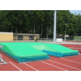 Pole vault competition landing area Spikeflex