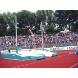 Pole vault competition landing area Spike Proof