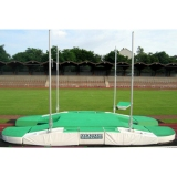 Pole vault competition landing area Double-sided