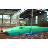Pole vault competition landing area for athletic arenas - IAAF approved