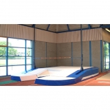 Pole vault competition landing area for athletic arenas Model Module 4
