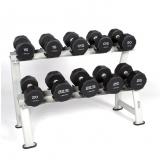 Pro-style dumbbells rack