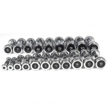DUMBELLS CHROMED NEW for fitness and weightlifting