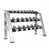 DUMBELLS RS RACK for fitness and weightlifting