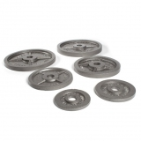 OLYMPIC CAST IRON DISCS for fitness and weightlifting