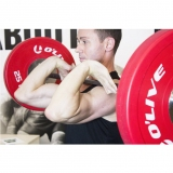 OLYMPIC COMPETITION BUMPER PLATE for fitness and weightlifting - IWF approved