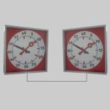 Training clocks synchronized systems 2-fold for swim training
