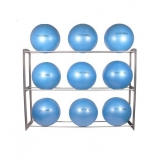 FITNESS BALL COMPACT RACK for fitness training