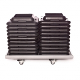 STEP SUPPORT BLOCKS RACK for fitness training