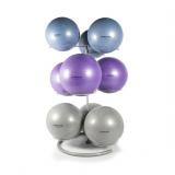 Fitness ball standing rack