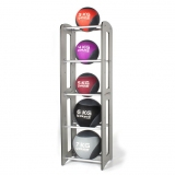 MEDICINE BALL COMPACT RACK for fitness training