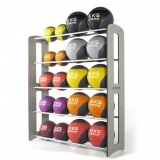 MEDICINE BALL COMPACT RACK for fitness training-2