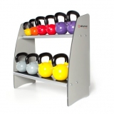 KETTLEBELL COMPACT RACK for fitness and weightlifting