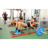 HIP THRUSTER for fitness and weightlifting