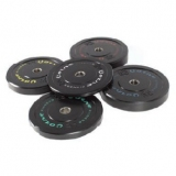 OLYMPIC TRAINING BUMPER DISCS for fitness and weightlifting