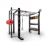 FITNESS ONE KIT + FUNCTIONAL STATION for fitness and weightlifting