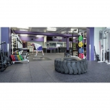 Flooring for Gyms and Weightlifting halls EVERLAST ULTRA TILE