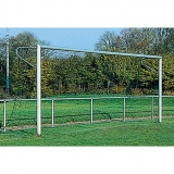 Soccer goals, with aluminium cast corner joints 7.32x2.44 m - FIFA approved
