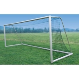 Soccer goals, Transportable, with welded mitres, Type Switzerland 7.32x2.44 m