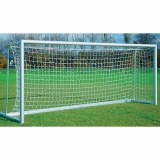 Soccer goals for Juniors, Transportable, with welded mitres, 5x2 m