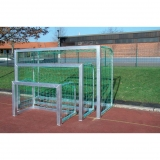Soccer training Mini goals, Transportable, completely welded, 1.20x0.80m, 1.80x1.20m and 2.40x1.60m