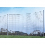 Soccer fields Uprights for ball catching fences