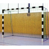 Handball goals, Transportable, with Rigid net hoops, with aluminium cast corner joints, 3x2 m