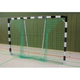 Handball goals, Transportable, with Folding net hoops, with aluminium cast corner joints, 3x2 m