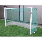 Outdoor hockey goals, all aluminium, acc.to EN 750, 3.66x2.14 m