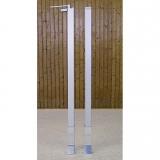 Badminton posts with internal tension mechanism - acc. to EN 1509 (test class C)
