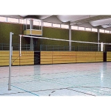 Volleyball posts Standard with spindle tensioning device - acc. to EN 1271