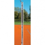 Volleyball posts with pulley tensioning device - acc. to EN 1271 and DVV-Norm II