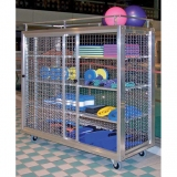 Storage sports equipment trolley Maxi