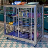 Storage sports equipment trolley Mini