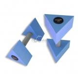 AQUA DUMBBELL TRIANGULAR - for aquafitness