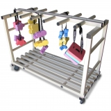 Storage sports TROLLEY SMALL PVC FOR SWIMMING BELTS
