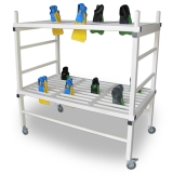 Storage sports SHELF FOR FINS, PVC