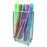 Storage sports ALUMINUM CABINET FOR AQUA NOODLES