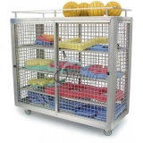 Storage sports TROLLEY ALUMINIUM