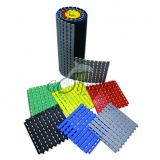 Flooring mat for locker rooms and swimming pools ROLL (PER MODULES)