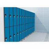 LOCKERS 12/8 - 30MM COMPACT LAMINATE/ALUMINUM for gyms, swimmings pools and wellness areas