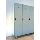 LOCKERS 10/8 - STANDARD NP 1116 TYPE B COMPACT LAMINATE-ALUMINUM for gyms, swimmings pools and wellness areas