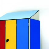 LOCKERS ACCESSORIES - SLOPING ROOF for gyms, swimmings pools and wellness areas