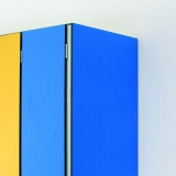 LOCKERS ACCESSORIES - SIDE-END OF LOCKER for gyms, swimmings pools and wellness areas