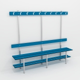 Benches SIMPLE BENCH 4 FUNCTION for gyms, swimmings pools and wellness areas