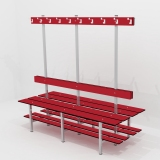 Benches DOUBLE BENCH 4 FUNCTION for gyms, swimmings pools and wellness areas