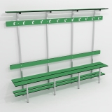 Benches SIMPLE BENCH 5 FUNCTION for gyms, swimmings pools and wellness areas