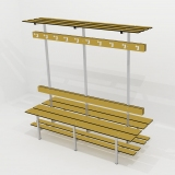Benches DOUBLE BENCH 5 FUNCTION for gyms, swimmings pools and wellness areas