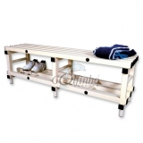 Benches PVC - 150X40X50CM for gyms, swimmings pools and wellness areas