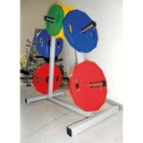 Disc Rack for discs up to 25 kg - for fitness and weightlifting